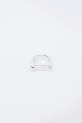 Miansai Sterling Silver Hudson Ring
