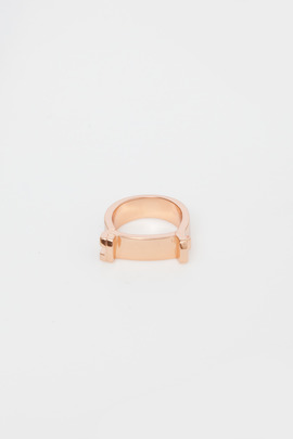 Miansai Rose Gold Hudson Ring