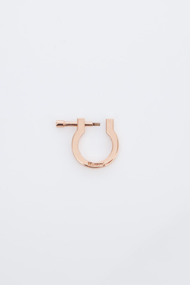 Miansai Rose Gold Modern Screw Ring