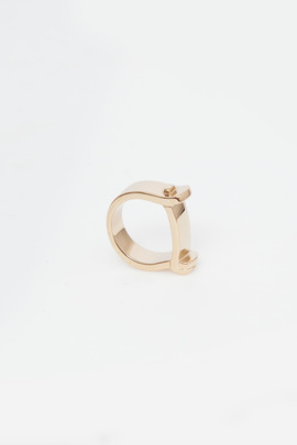 Miansai Gold Hudson Ring