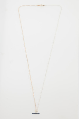 Still House 14K Gold/Sterling Silver Two-Tone Kati Necklace