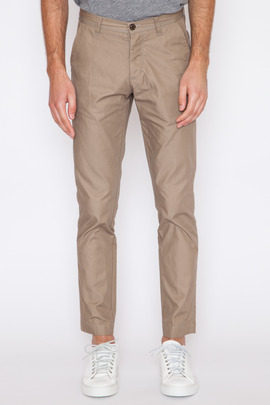 Wings + Horns Tan Sulphur-Dyed Twill Tokyo Chino