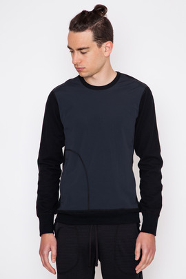 Reigning Champ Stretch Nylon Contrast Crewneck