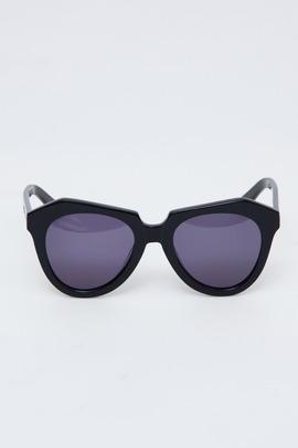 Karen Walker Black Number One Sunglasses
