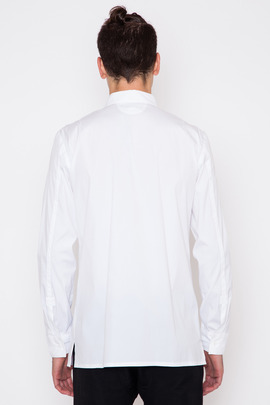 Helmut Lang Luxe Shirting Pocket Shirt