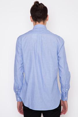 Gitman Bros. Vintage Blue End-on-End Dress Shirt