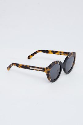 Karen Walker Crazy Tortoise Flowerpatch Sunglasses