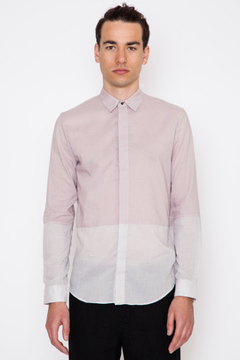 Robert Geller Two-Tone Dress Shirt
