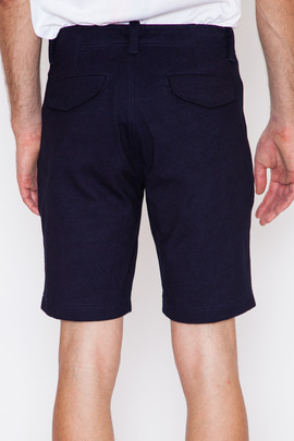 Wings + Horns Heavyweight Jersey Indigo Field Short
