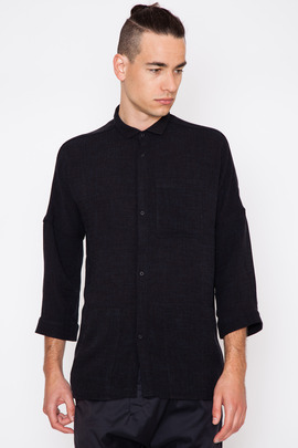Chapter Check Singer 3/4 Sleeve Shirt