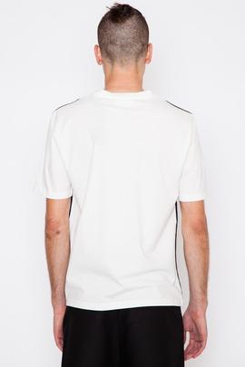 Ami Black Front Panel T-Shirt