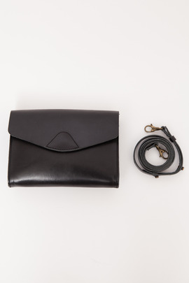Vere Verto Black Mini Mox Convertible Clutch