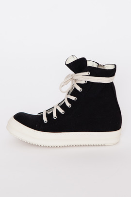 DRKSHDW Men's Black Vegan High Top Sneakers