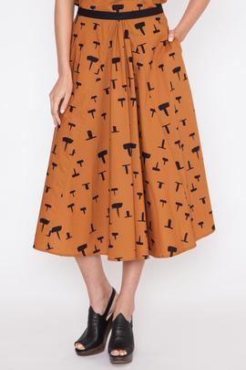 Rachel Comey Women's Ezra Printed Skirt