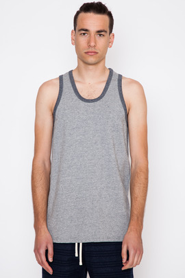 Reigning Champ Reversible Diagonal Terry Tank Top