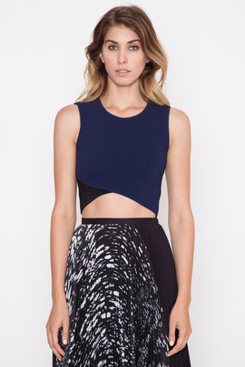 Timo Weiland Tash Knit Shell Top