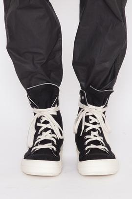 DRKSHDW Men's Black Vegan High Top Sneakers