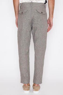 Wings + Horns Melange Linen Field Pant