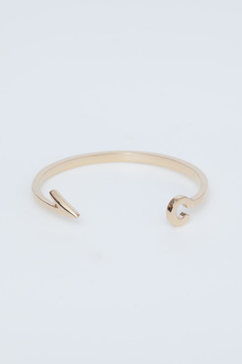 Miansai Gold Fish Hook Cuff