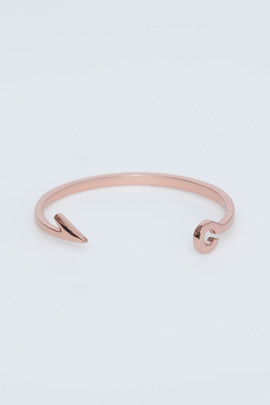 Miansai Rose Gold Fish Hook Cuff