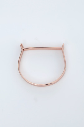 Miansai Rose Gold Thin Hudson Cuff