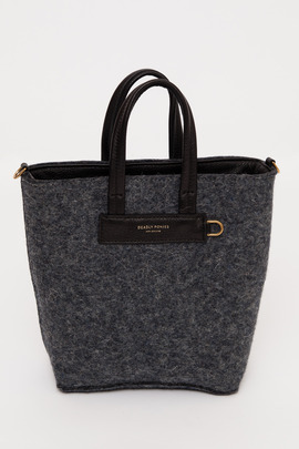 Deadly Ponies Mr. Mini Market Felt Tote