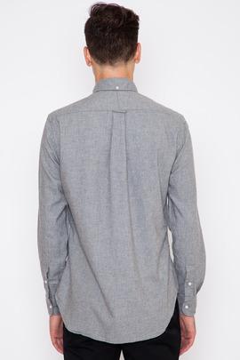 Gitman Bros. Vintage Grey Portuguese Flannel