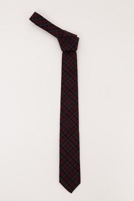 Gitman Bros. Vintage Maroon Archive Overdyed Tartan Tie