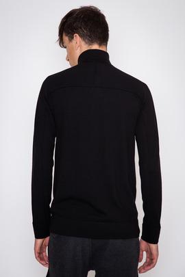 Helmut Lang Fine Wool Funnel Neck Sweater