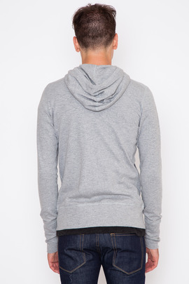 Wings + Horns Heather Grey Base Zip Hoodie FW15