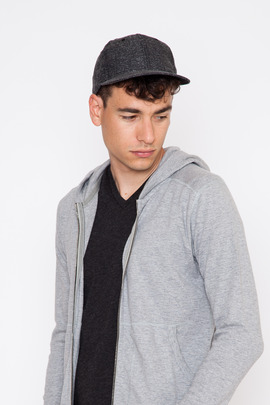 Wings + Horns Twill Tweed 6 Panel Cap