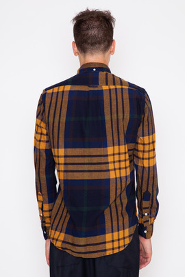 Gitman Bros. Vintage Gold Big Blanket Check