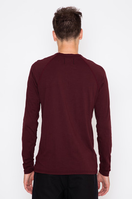 Reigning Champ Ringspun Jersey L/S Henley