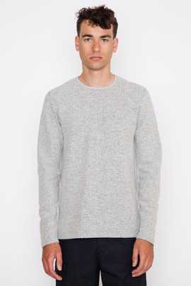 Wings + Horns Felted Wool L/S Sweater