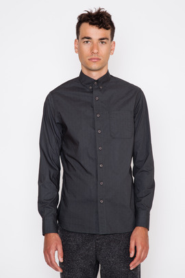 Wings + Horns Monogram Poplin L/S Woven Shirt