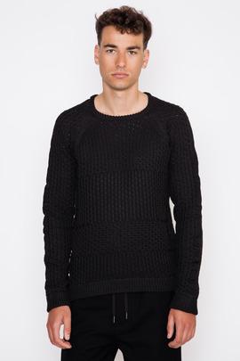 Robert Geller Multi-Knit Crewneck