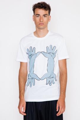 Henrik Vibskov Men's 4 Hands Print The Tee