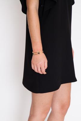 Lady Grey Gold/Pyrite/Hematite Revolve Bracelet