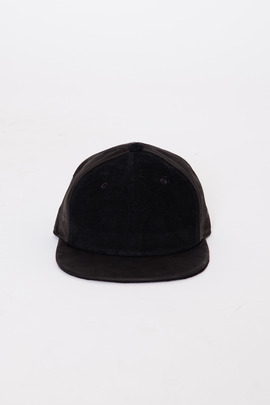 DRKSHDW Men's Heavy Corduroy/Leather Combo Cap