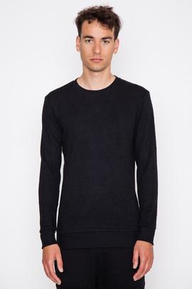 SILENT Men's Soria Textured Knit L/S Sweatshirt