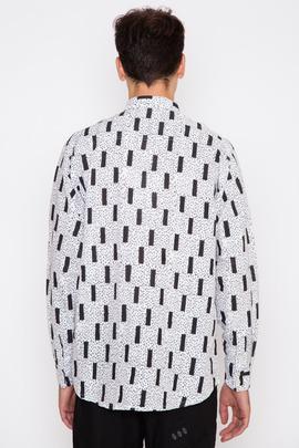 Henrik Vibskov Men's Flint Print New James Shirt