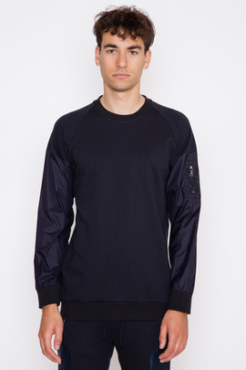 Still Good Bomber Sleeved Sweatshirt