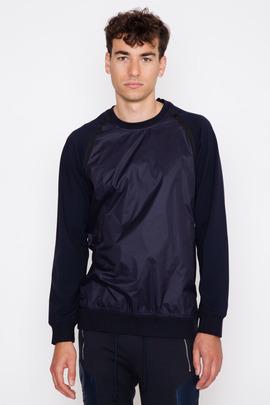 Still Good Trimmed Neoprene Sweatshirt