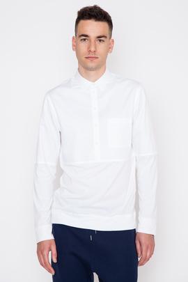Helmut Lang Heritage Shirting Combo Pullover Shirt