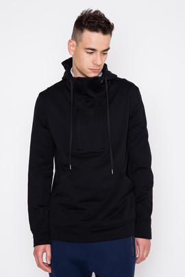 Helmut Lang Brushed Back Fleece Double Zip Hoodie
