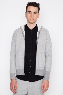 Wings + Horns Vented Terry Zip Up Hoodie