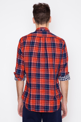 Gitman Bros. Vintage L/S Japanese Double-Faced Plaid/Gingham Check