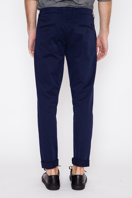 Ami Navy Seamless Side Chino