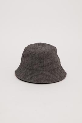 Wings + Horns Reversible Vented Linen Bucket Hat