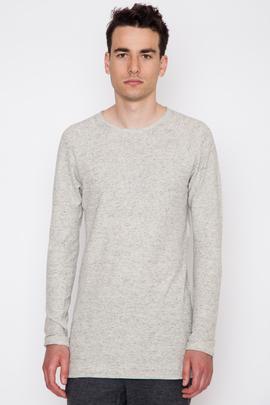 Wings + Horns Linen Jersey L/S T-Shirt